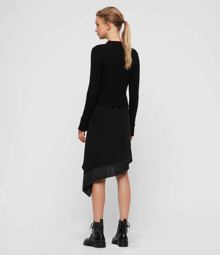 Women's Elina Dress (black) - Image 5