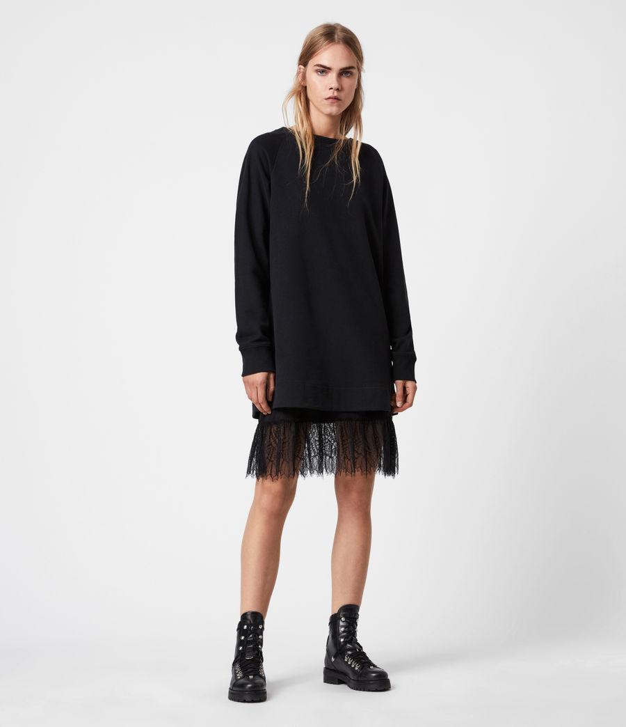 Women's Lee Lace Dress (black) - Image 1