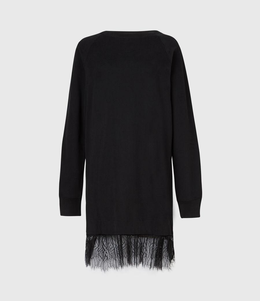 Women's Lee Lace Dress (black) - Image 2