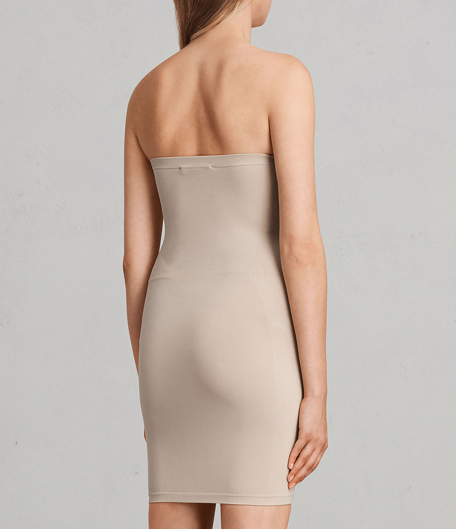 Women's Bri Slip Dress (taupe) - Image 5