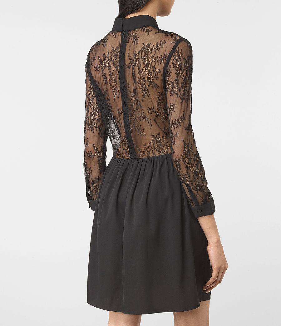 Womens Nia Dress (black) - Image 2