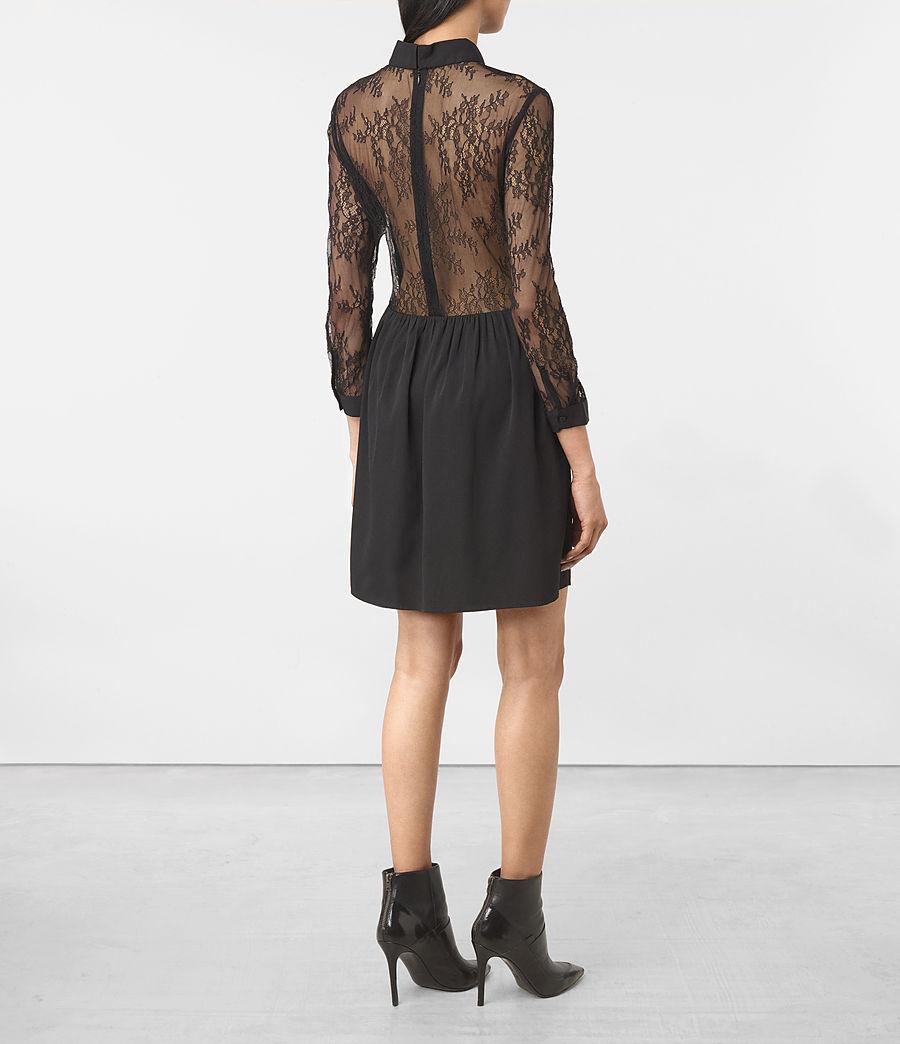 Womens Nia Dress (black) - Image 5