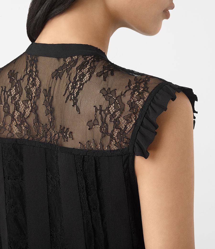 Women's Nia Jolene Dress (black) - Image 4
