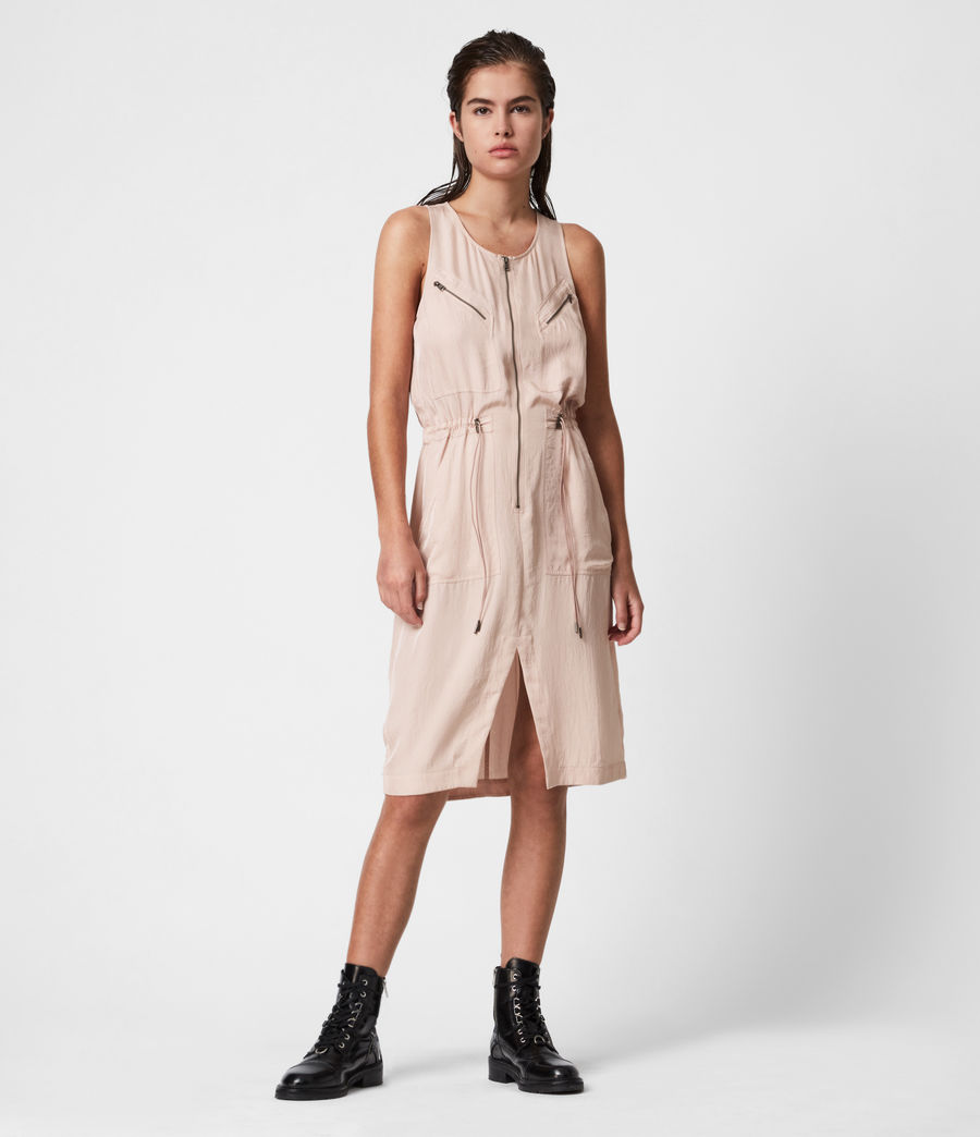 Womens Vola Dress (muted_pink) - Image 1