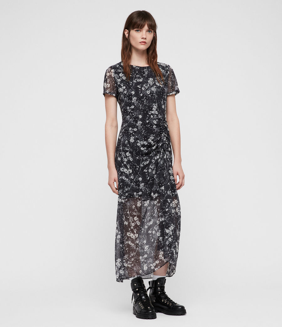 Women's Ariya Lisk Dress (black) - Image 1