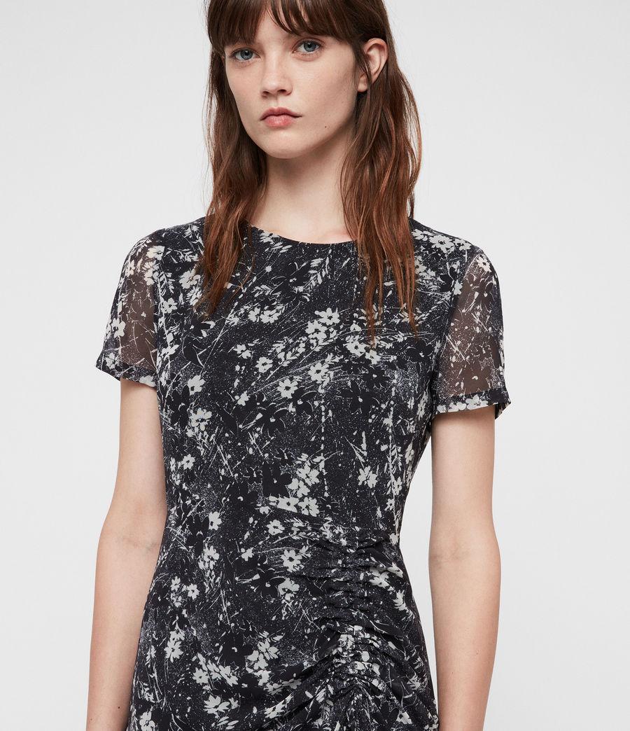 Women's Ariya Lisk Dress (black) - Image 4