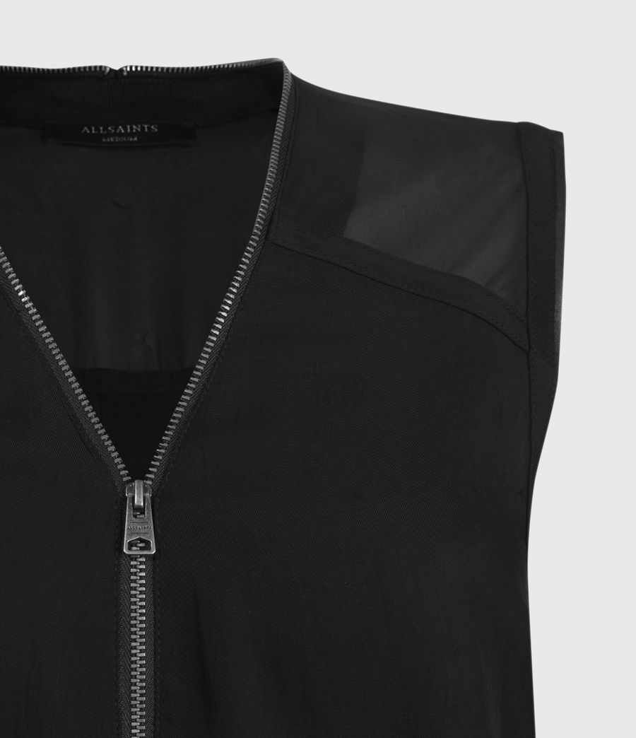 Donne Lottie Dress (black) - Image 3