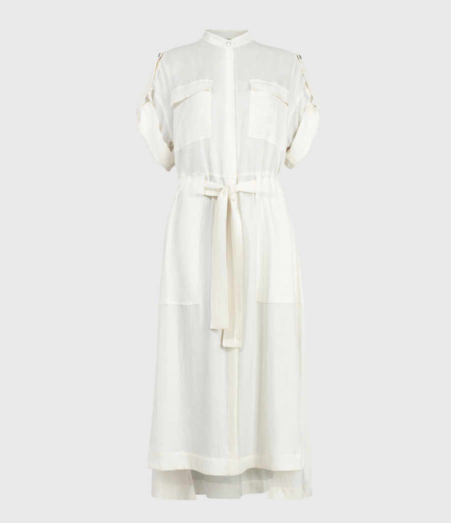 Women's Luciana Dress (ecru_white) - Image 2
