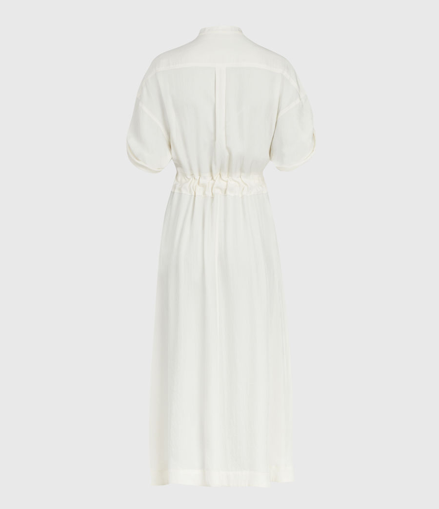 Women's Luciana Dress (ecru_white) - Image 3