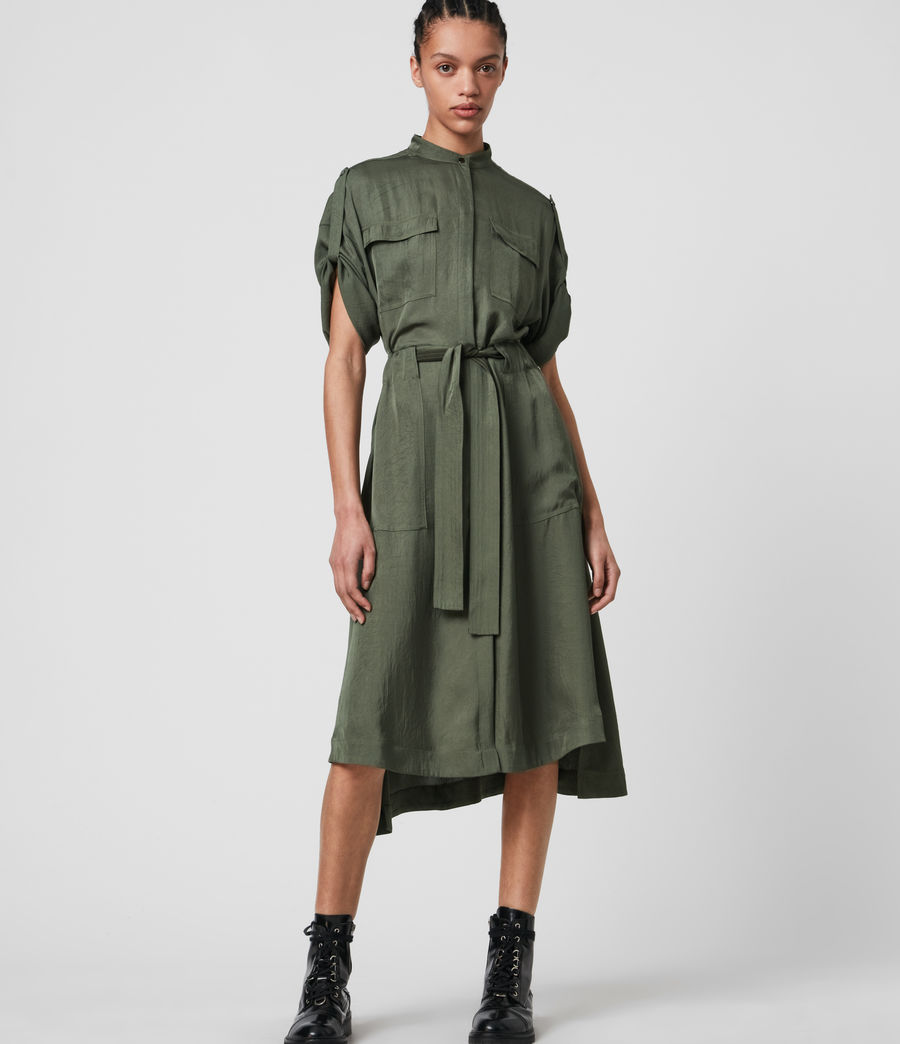 Women's Luciana Dress (utility_green) - Image 1