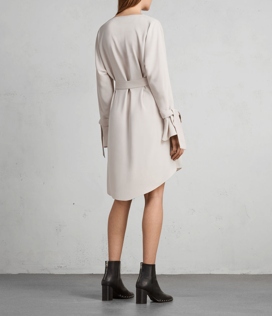 Femmes Robe Sia (pale_pink) - Image 6