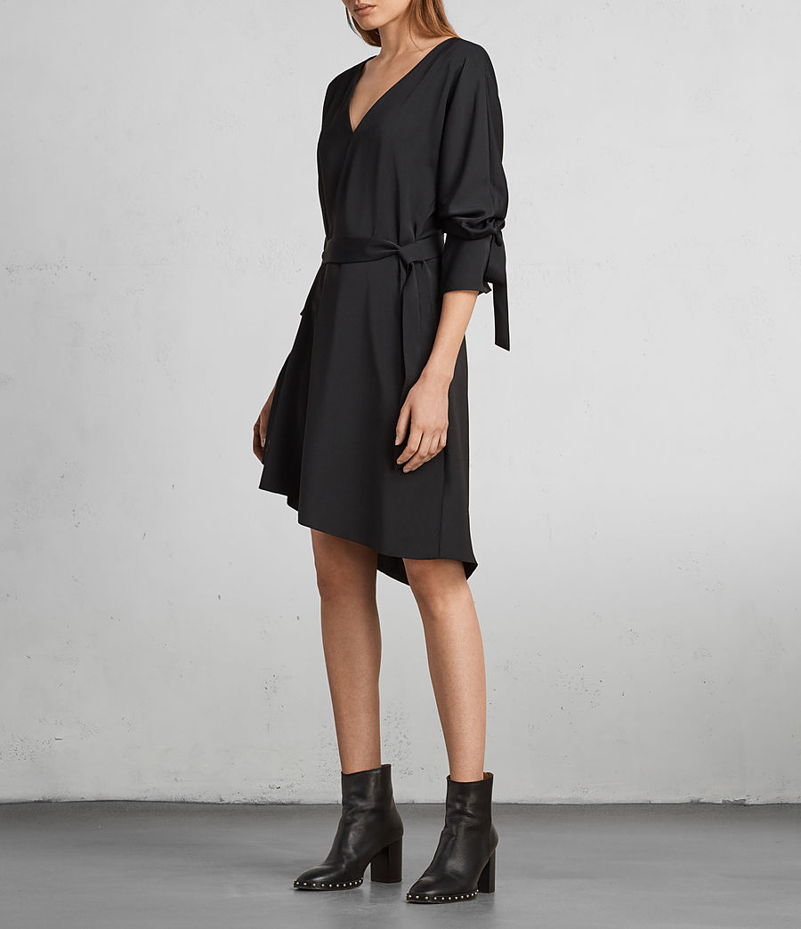 Womens Sia Dress (black) - Image 1