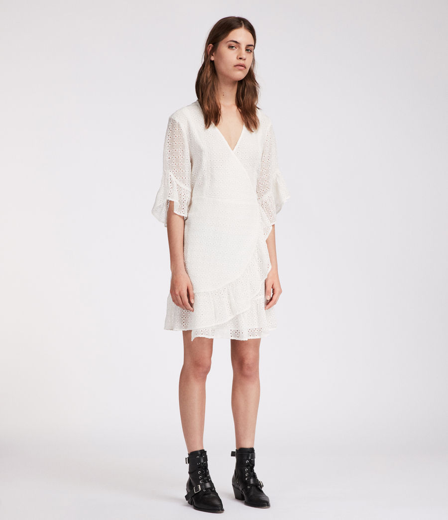 Womens Marlow Ette Dress (chalk_white) - Image 3