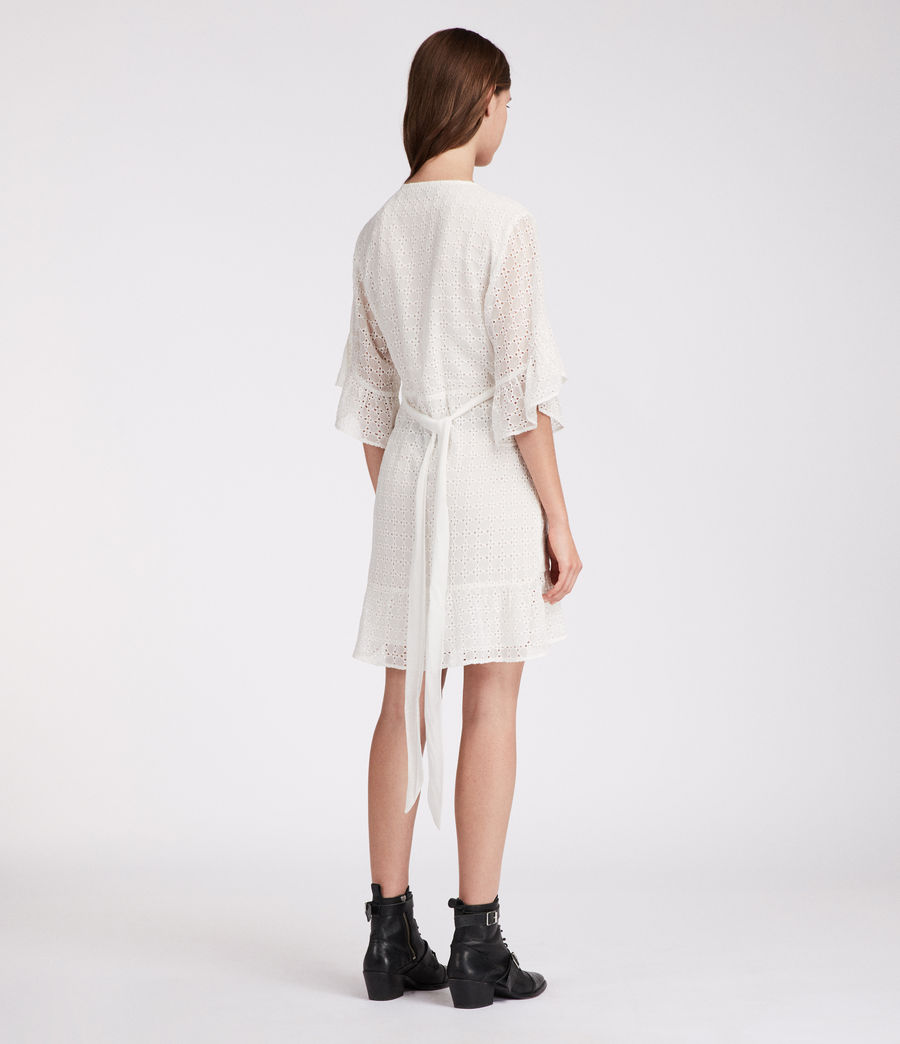 Womens Marlow Ette Dress (chalk_white) - Image 4
