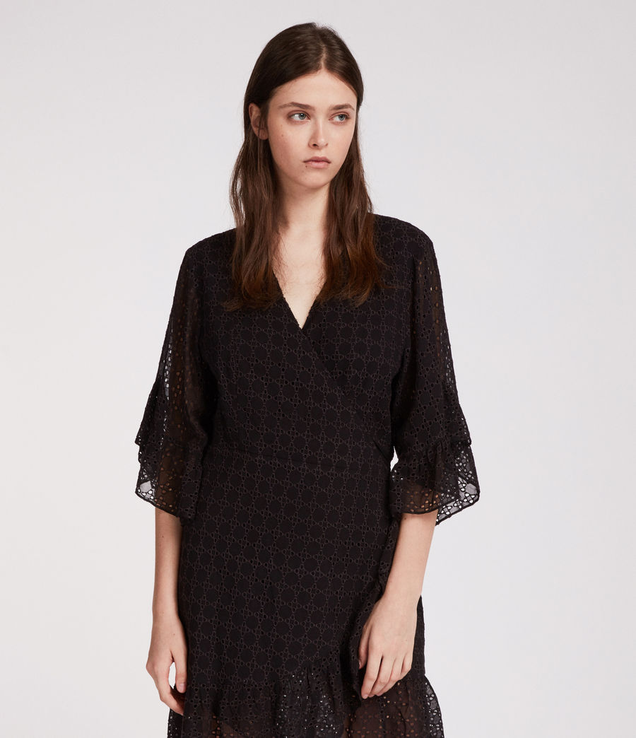 Women's Marlow Ette Dress (black) - Image 1