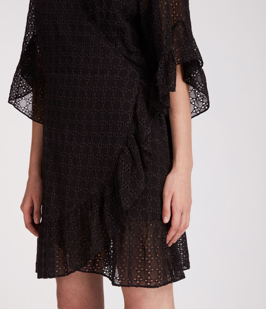 Women's Marlow Ette Dress (black) - Image 2