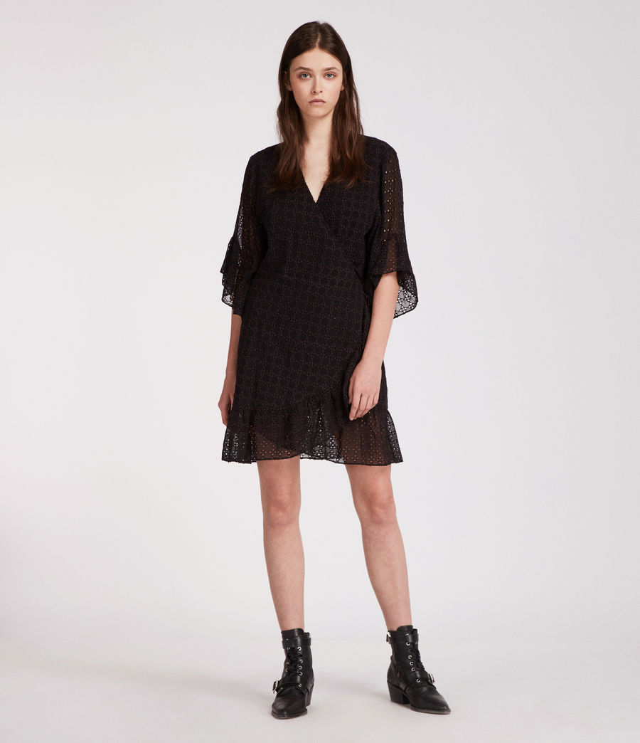 Women's Marlow Ette Dress (black) - Image 3