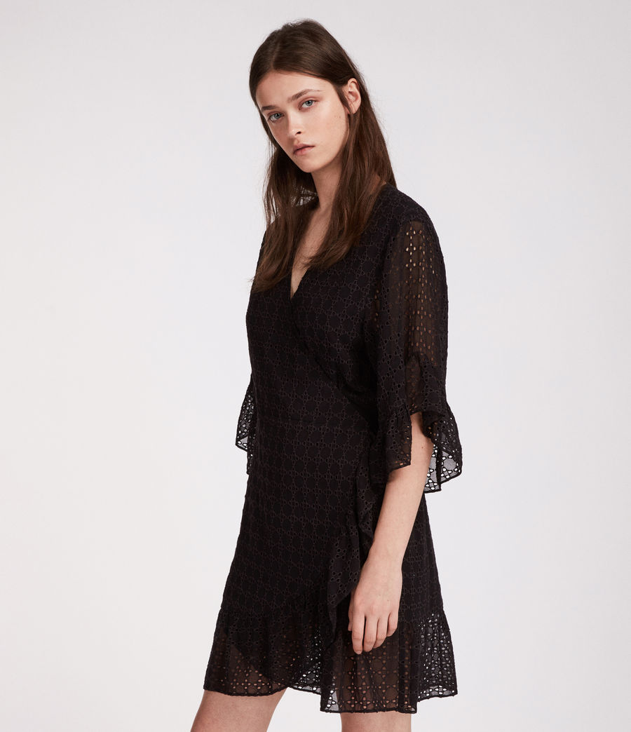 Women's Marlow Ette Dress (black) - Image 5