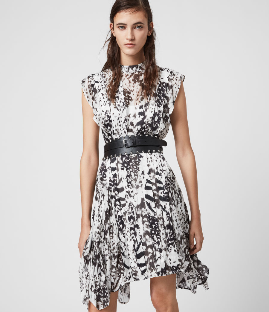 Womens Fleur Wing Dress (chalk_white) - Image 5