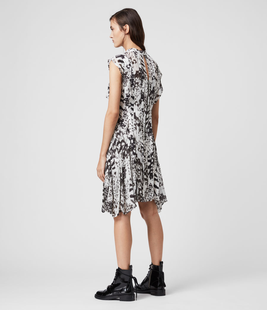Womens Fleur Wing Dress (chalk_white) - Image 6