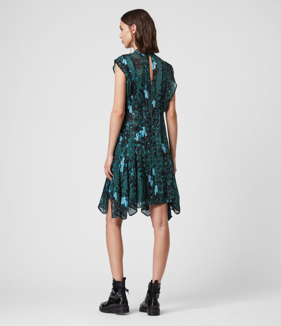 Womens Fleur Wing Dress (opal_green) - Image 7