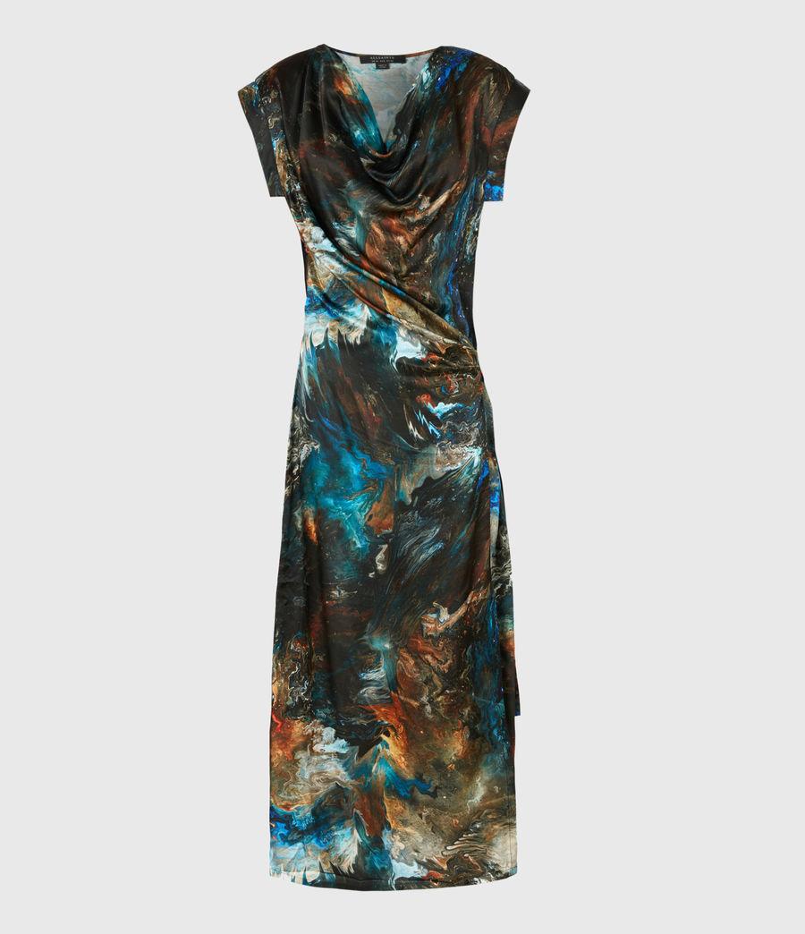Womens Lina Concerto Dress (blue) - Image 2