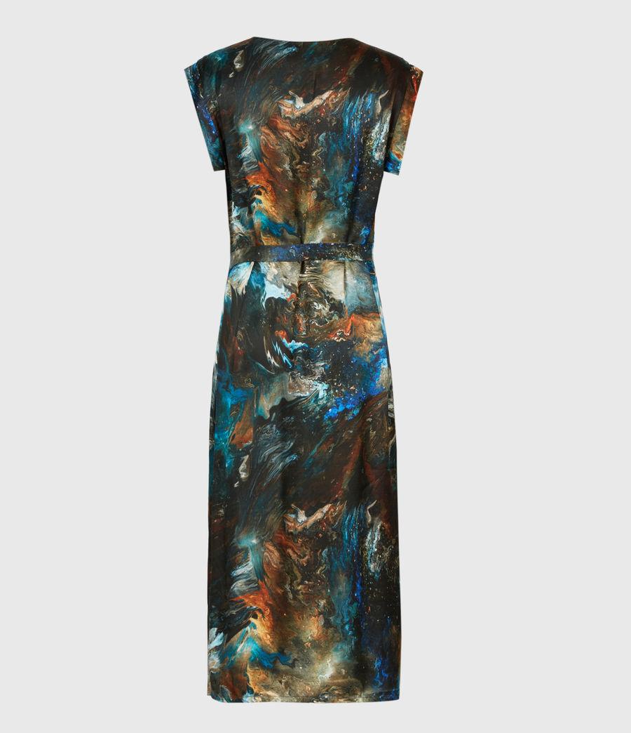Womens Lina Concerto Dress (blue) - Image 3