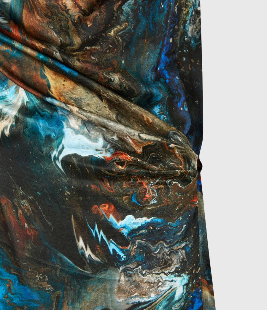 Womens Lina Concerto Dress (blue) - Image 6