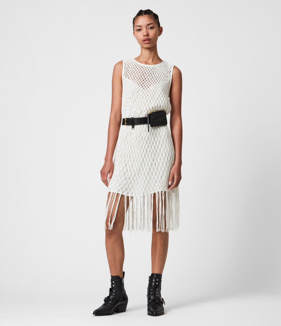 Damen Jesa Dress (chalk_white) - Image 1