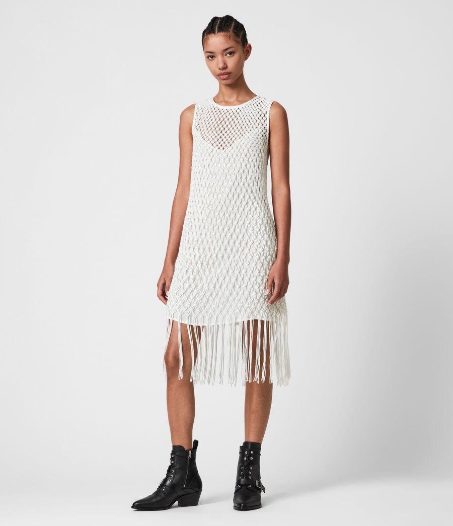 Donne Jesa Dress (chalk_white) - Image 4