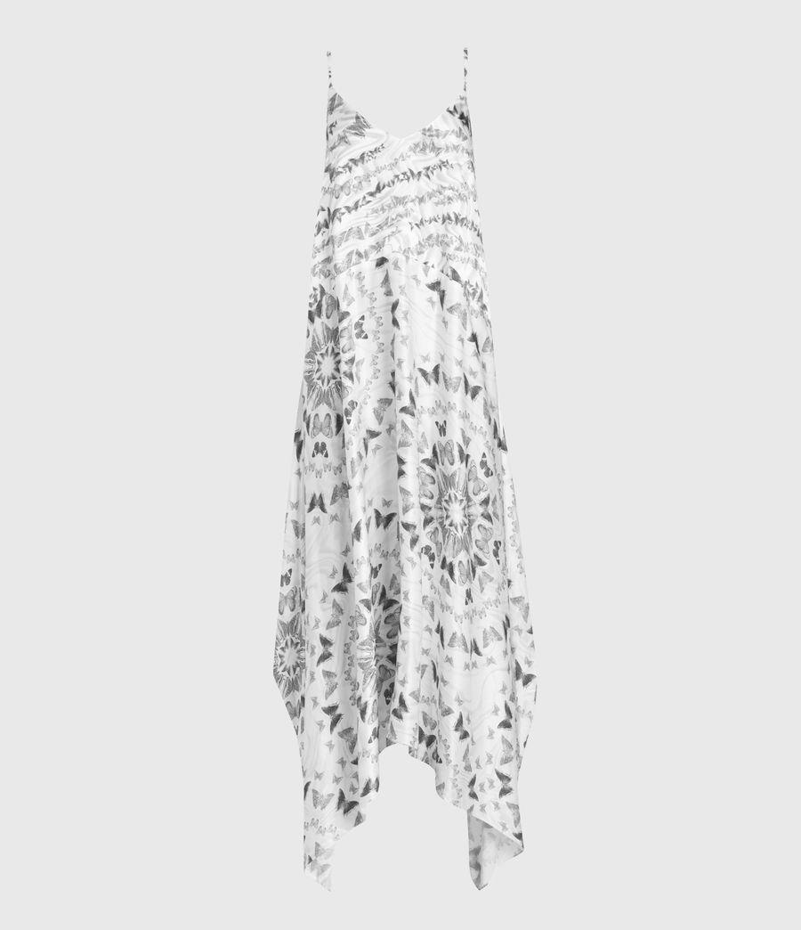 Femmes Robe Longue Larisa Varkala (white) - Image 5