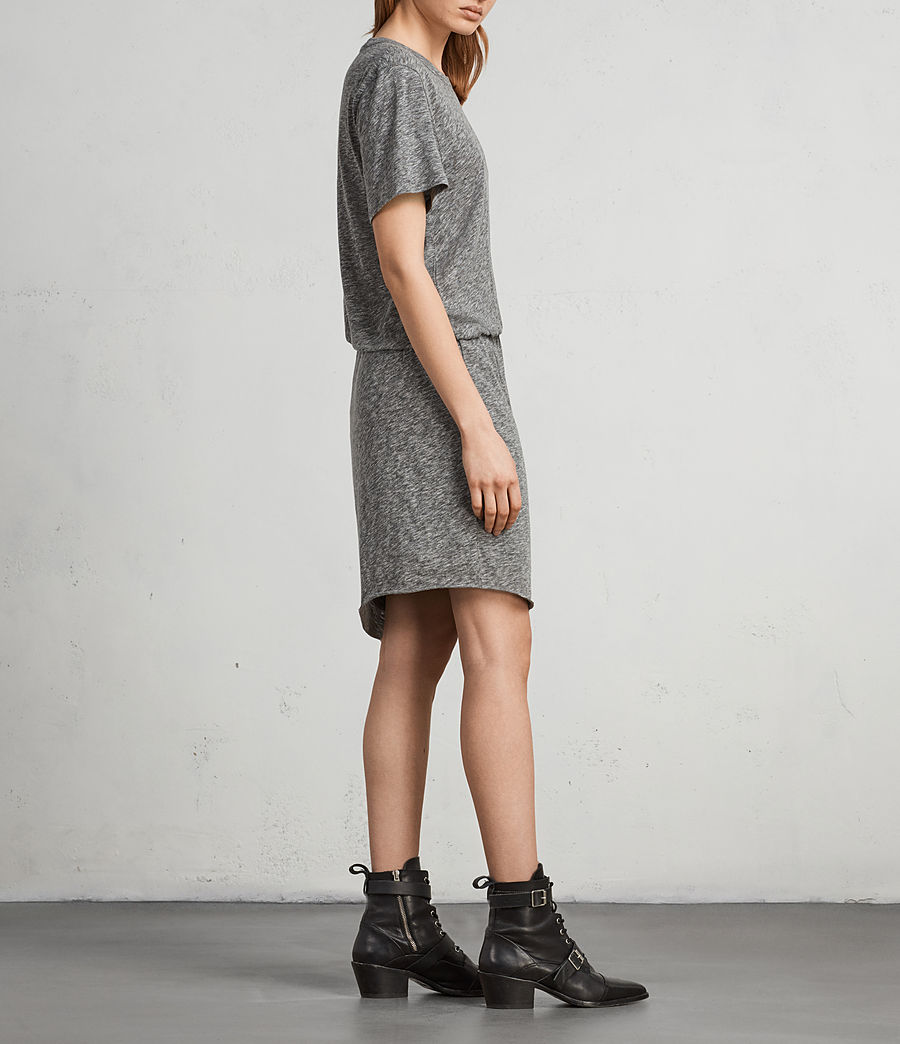 Womens Nandi Flame Dress (grey_marl) - Image 4