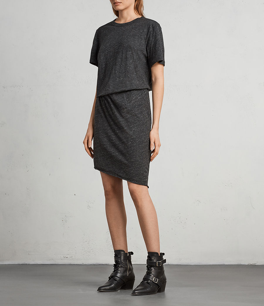 Damen Nandi Flame Kleid (cinder_marl) - Image 1