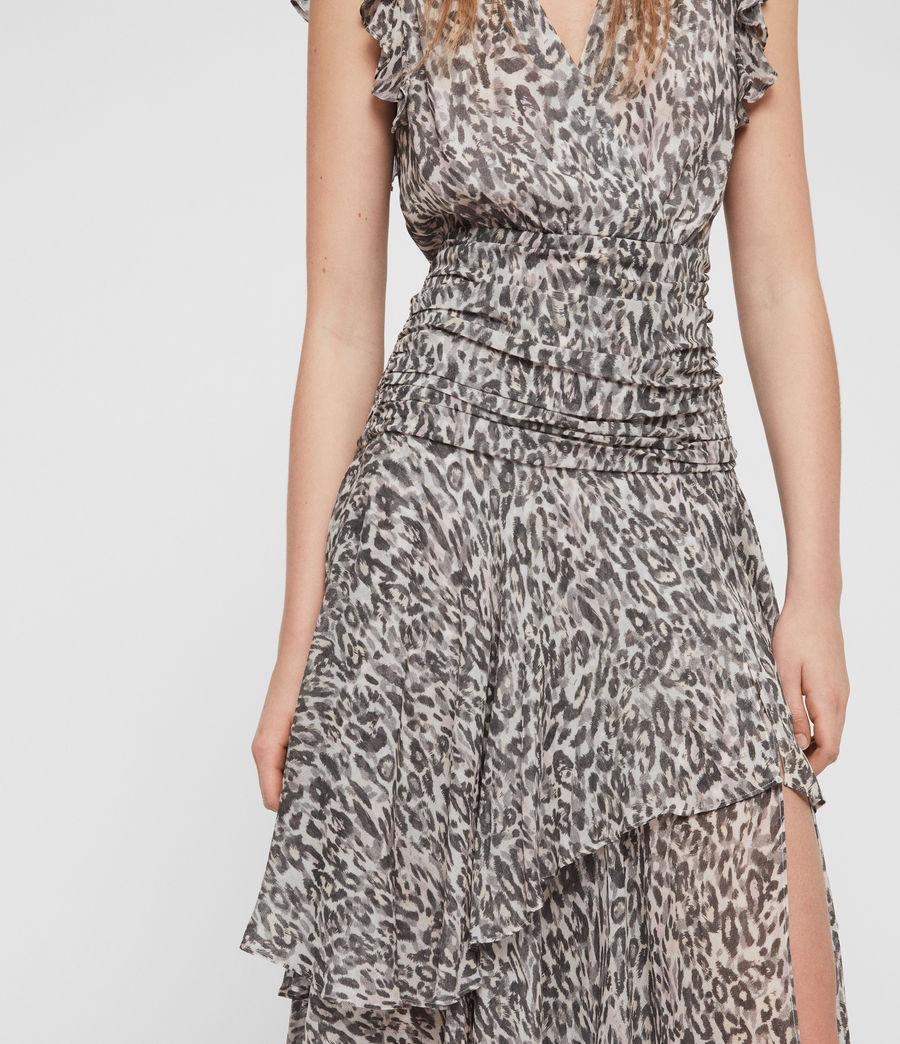Womens Caris Kara Long Dress (light_pink) - Image 3