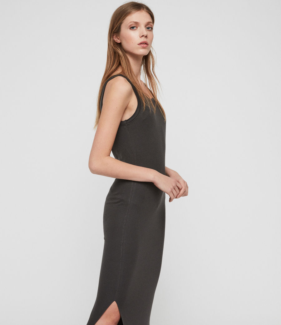 Womens Rina Tank Dress (anthracite) - Image 3