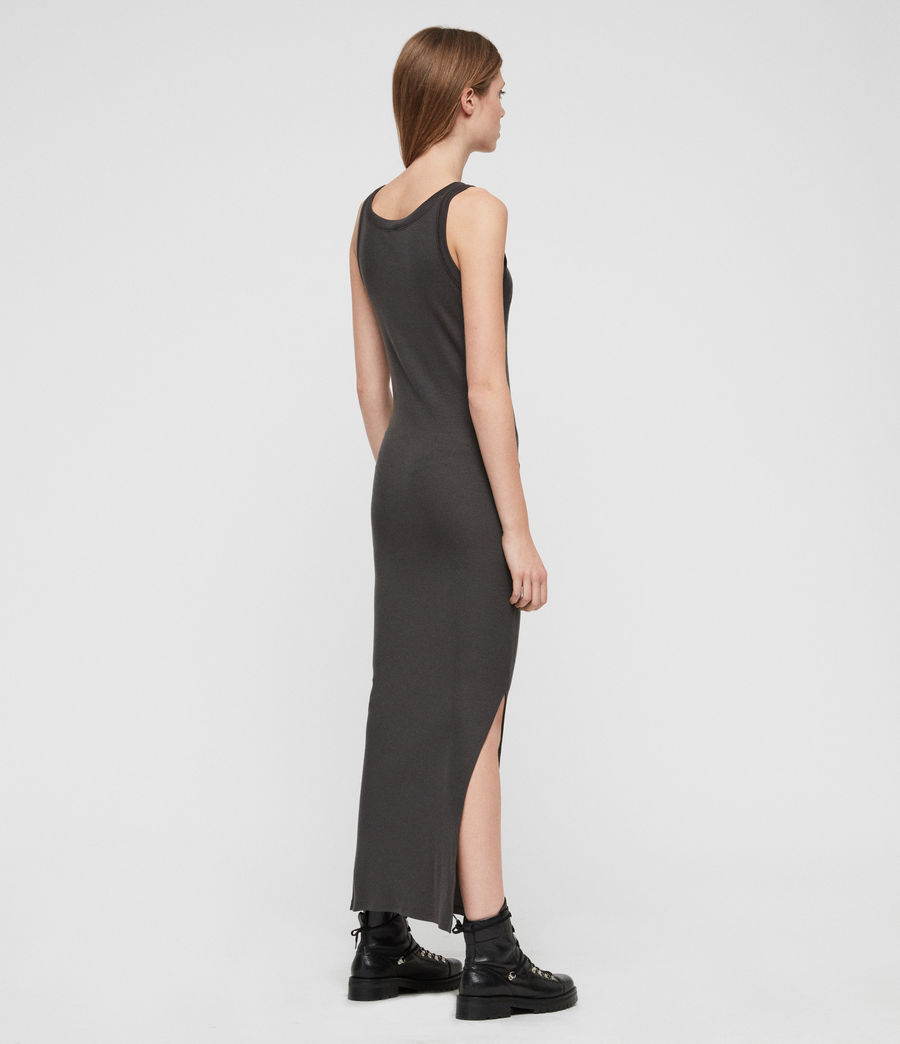 Womens Rina Tank Dress (anthracite) - Image 7
