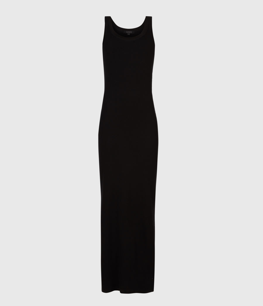Womens Rina Tank Dress (black) - Image 2