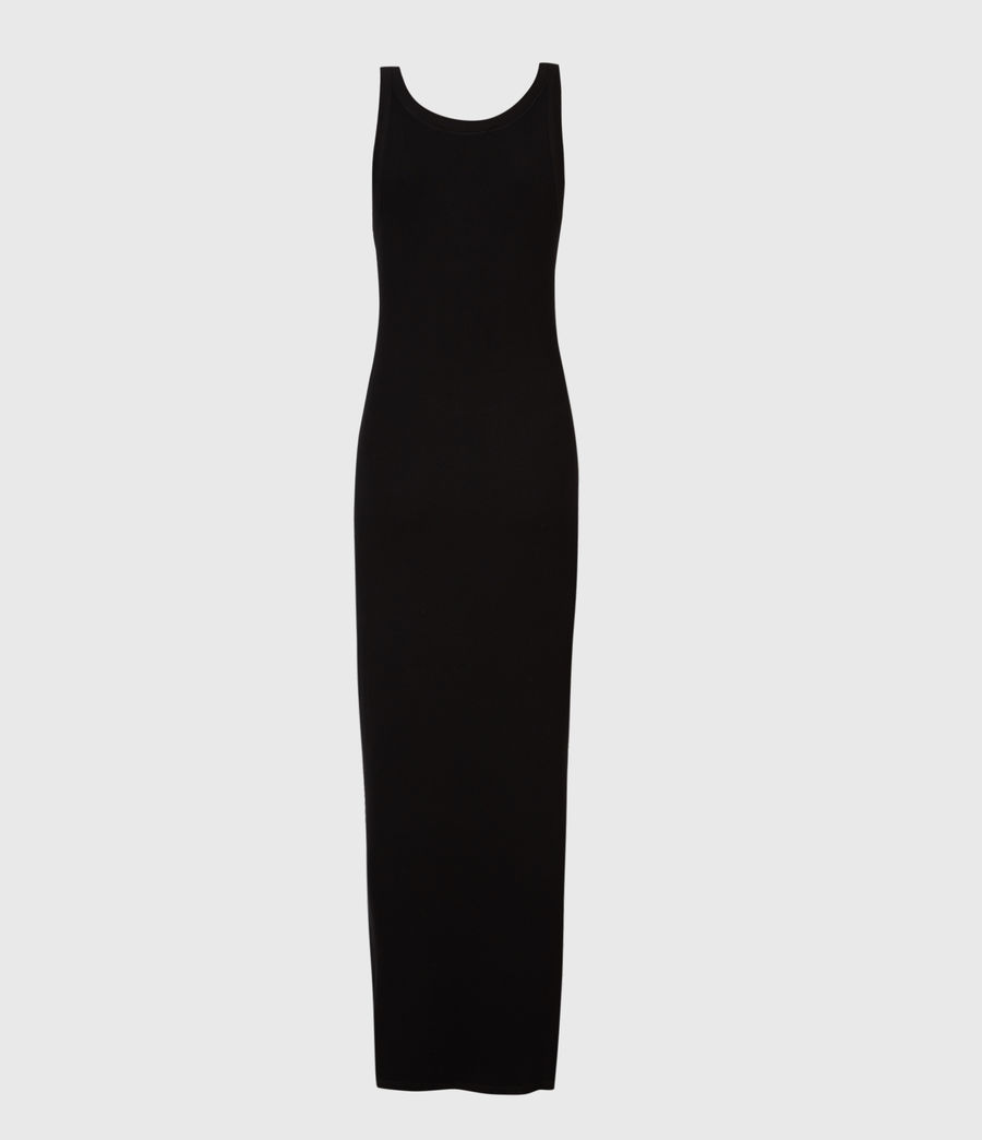 Womens Rina Tank Dress (black) - Image 3