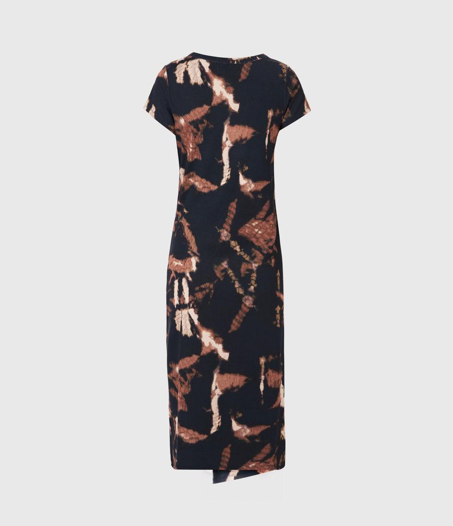 Femmes Hatti Tie Dye Dress (black) - Image 3