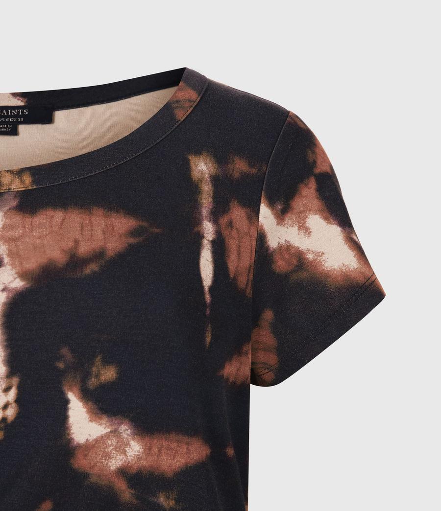 Femmes Hatti Tie Dye Dress (black) - Image 5