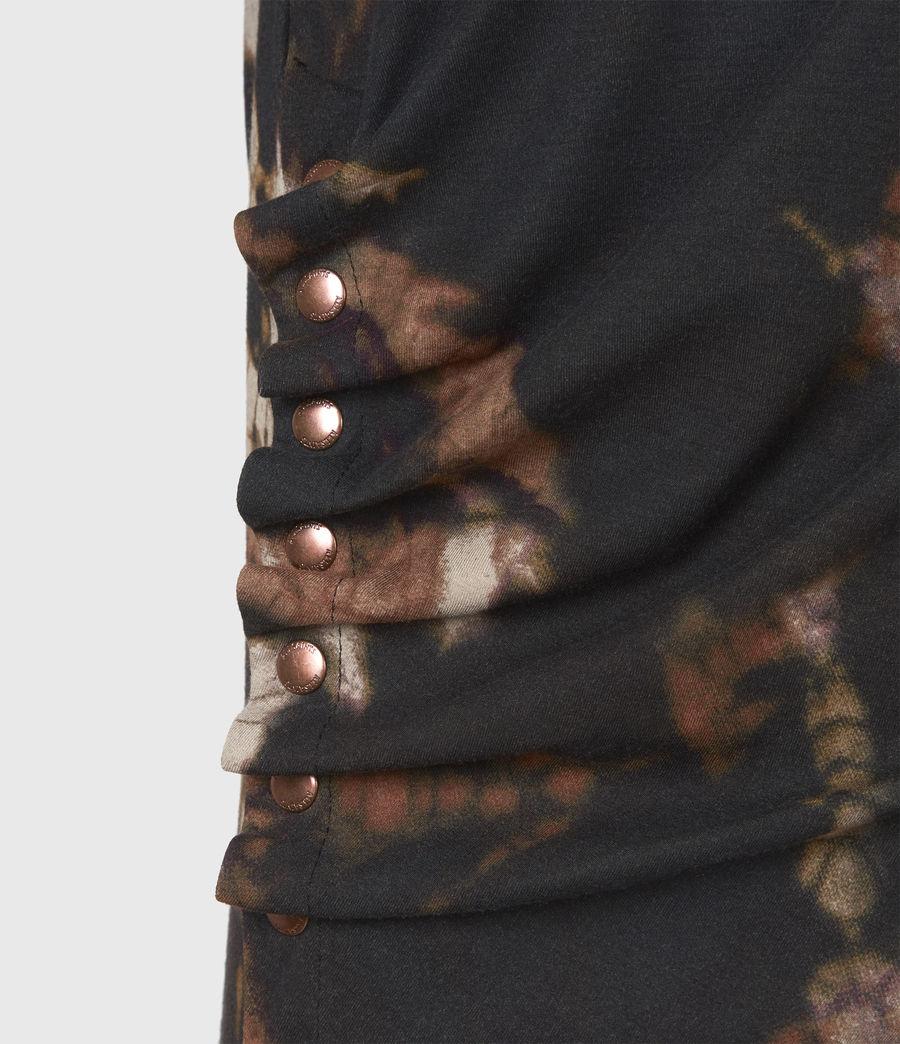 Femmes Hatti Tie Dye Dress (black) - Image 6