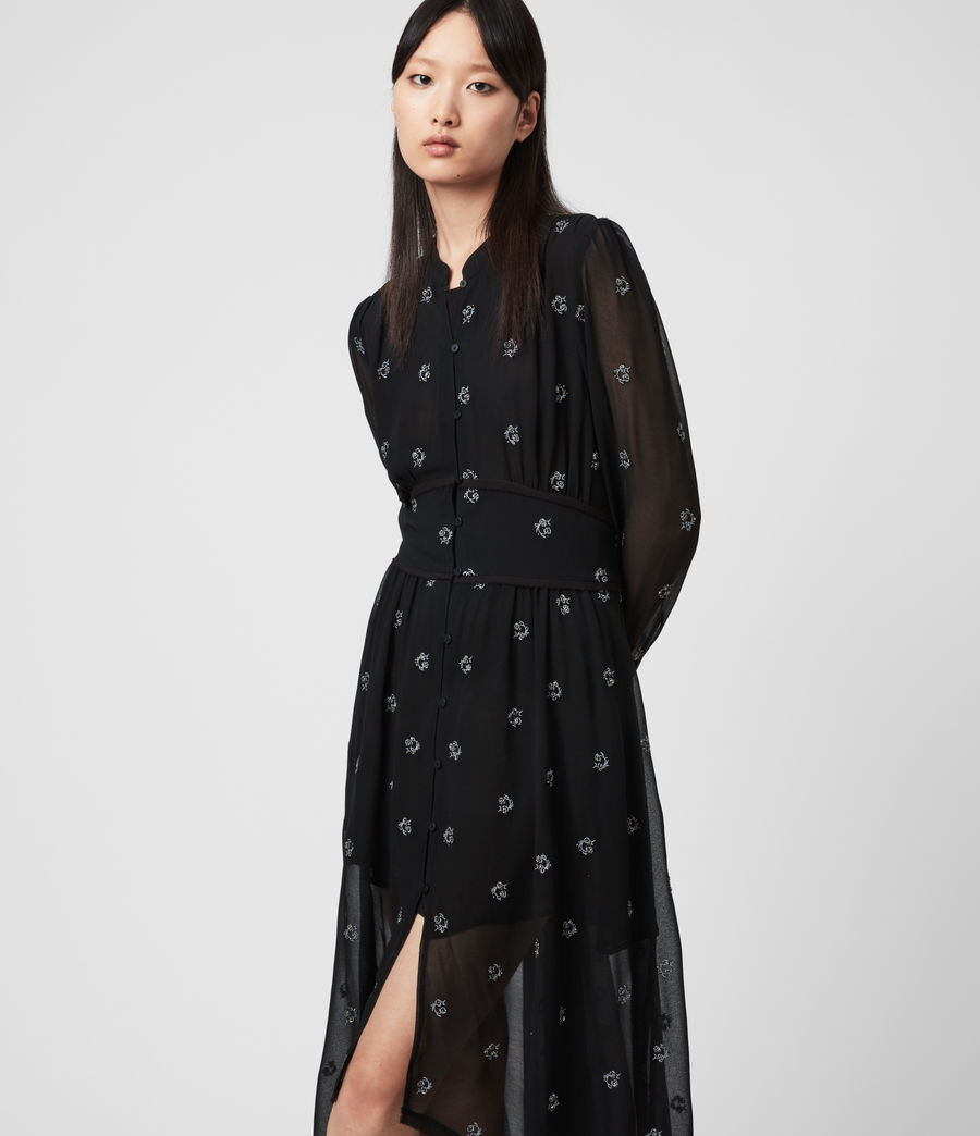 Women's Liza Cyla Dress (black) - Image 4