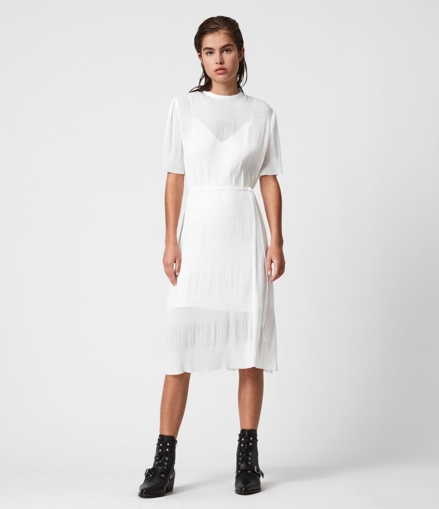 Womens Kano Dress (chalk_white) - Image 1