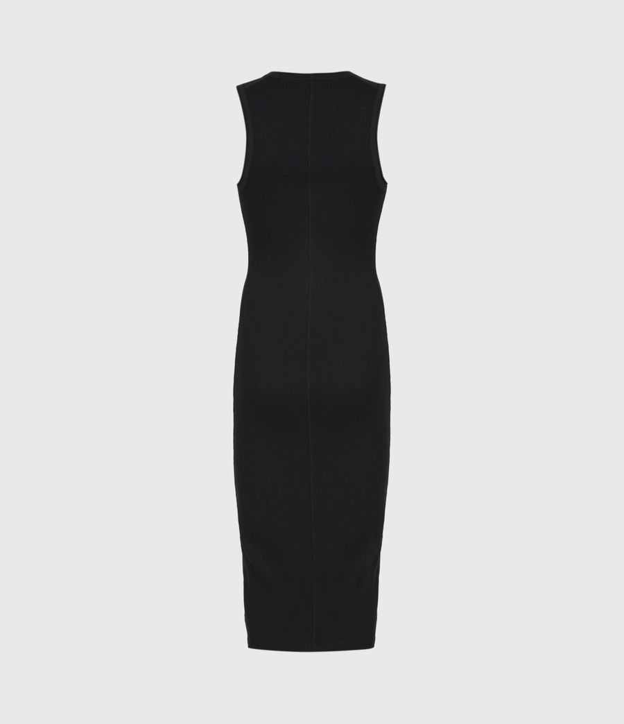 Women's Alicia Dress (black) - Image 3