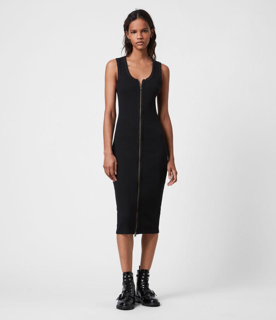 Women's Alicia Dress (black) - Image 4