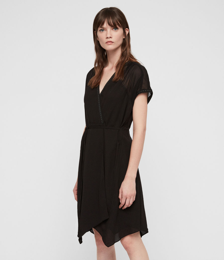 Femmes Robe Dress (black) - Image 1