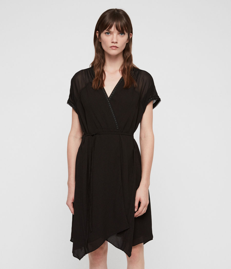 Women's Claria Dress (black) - Image 5