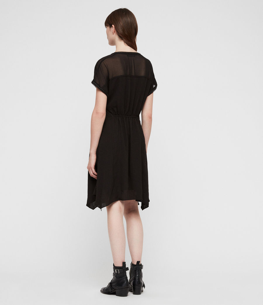 Women's Claria Dress (black) - Image 6