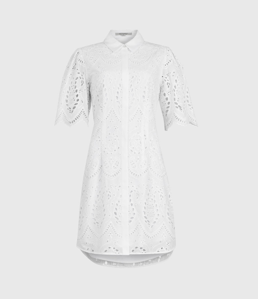Womens Cecee Dress (chalk_white) - Image 1