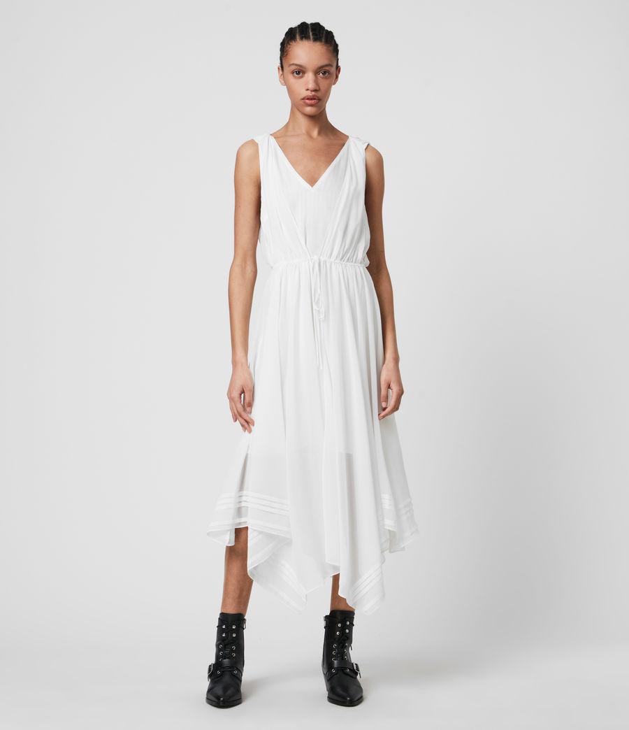 Femmes Celeste Dress (chalk_white) - Image 1